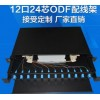 12口24口抽屉机架式光缆终端盒熔纤盒 可满配