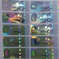 防伪标签 全息镭射防伪 全息反贴标签