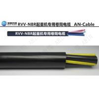 双层橡胶吊具卷盘电缆 卷筒电缆移动柔性电缆厂家