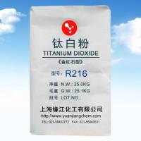 金红石钛白粉R216吸油量低润湿性好、易分散