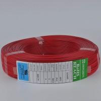 东莞中正UL1007电子线24awg低铅单股或绞线裸铜线