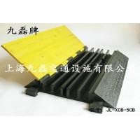 橡胶五线槽减速带,地面电线过桥,路面线槽减速板