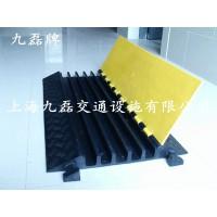 车间地面过线槽,PVC黄黑过线槽,临时活动过线槽