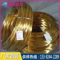 高精H65黄铜线硬度 生产H65黄铜线厂家