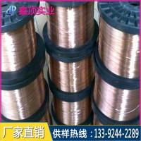进口深圳铍铜线销售厂家 高耐磨导电环专用c17200铍铜线