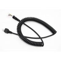 厂家供应弹簧音频线 医疗线 通信线缆 数据连接线