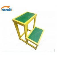 厂家直销高压绝缘凳 电工三层玻璃钢绝缘凳 可移动式绝缘凳批发