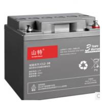 山特12V38AH UPS蓄电池 UPS不间断电源选湖北成特