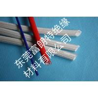 硅橡胶玻璃纤维管内胶外纤电机专用自熄管7kv