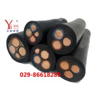 翼航线缆国标铜芯橡套 YC3x35平方电缆