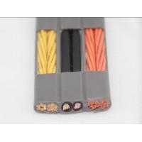东莞施工电梯专用电缆 带钢丝电梯专用扁电缆