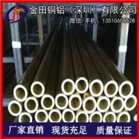 珠海H62黄铜管 H65硬质黄铜管 黄铜方管10*10*1