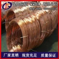 TP2全软铜线 国产T2裸铜线定制 生产C1100红铜线批发