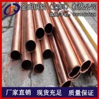 软态包塑TU2紫铜管 红铜管价格 TU1/TU2无氧紫铜管材