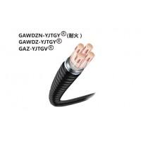 铜导体交联聚乙烯绝缘钢联锁铠装外护套电力电缆0.6/1KV