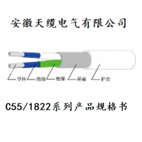 C55/1822系列产品规格书/安徽天缆电气供应