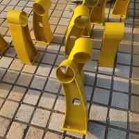 桥梁栏杆支架价格 中鸣防撞桥梁栏杆支架现货可定做