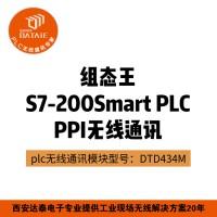 西门子S7-200Smart无线通讯模块 组态王与plc